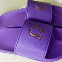 Omega PSI PHI -SLIDE IN SANDALS