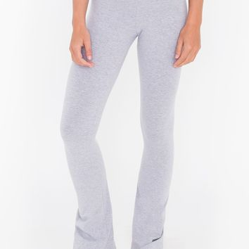 Cotton Spandex Jersey Yoga Pant | American Apparel