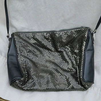 Vintage Whiting & Davis Metallic Handbag