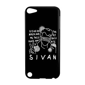 Troye Sivan Art Kiss Me On Mouth Arf 001  iPod Touch 5 Case