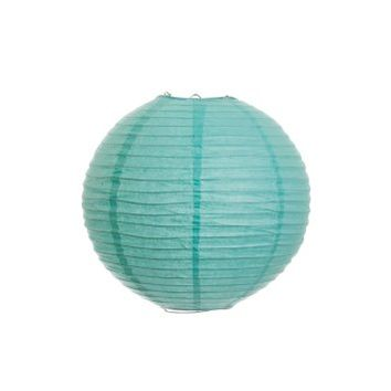 Koyal 10-Inch Paper Lantern, Diamond Blue, Set of 6