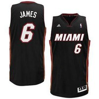 Miami Heat Lebron James #6 jerseys