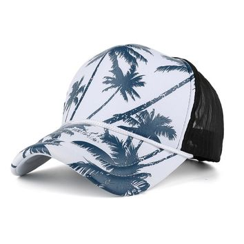 2a82e1521bb Summer Unisex Men Printed Coconut Tree Palm Beach Adjustable Out. Item  Type  Baseball Caps ...