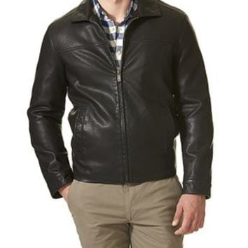 Dockers Lay Down Collar Jacket - Black - Men's
