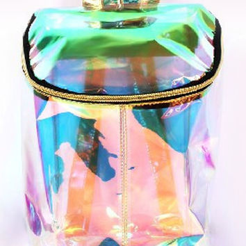 Hologram Clear Back Pack