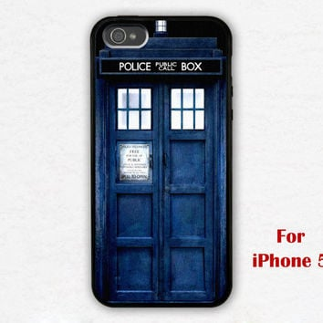 iPhone 5 Case, Tardis iphone 5 case, Police Box, Dr Who Tardis iphone 5 case