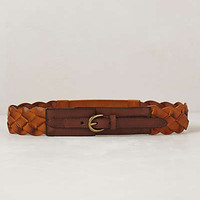 Burnished Weave Belt