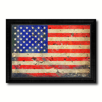 Vintage American Flag Wall Art shop american flag wall art on wanelo