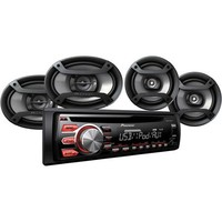 Pioneer Car Audio Bundle includes CD Receiver plus (4) Speakers #DXT-X2769UI - Walmart.com