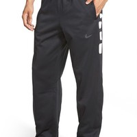 Men's Nike 'Elite Stripe' Therma-FIT Athletic Pants,