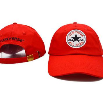 Converse Women Men Embroidery Baseball Cap Hat Sports Sun Hat
