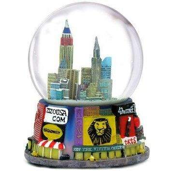 Broadway Theater Snow Globe
