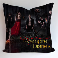 The Vampire Diaries Pillow Cases Covers Design Home Decoration