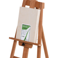 American Easel Cherrywood Yahzi A-Frame Easel - BLICK art materials