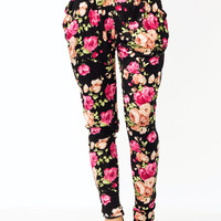 Secret-Garden-Harem-Pants BLACKPINK - GoJane.com