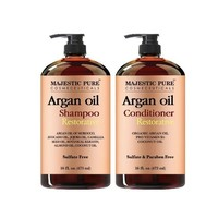Majestic Pure Natural Argan Oil Shampoo Conditioner SET