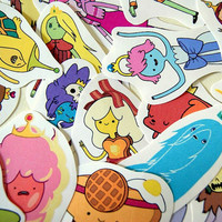 Adventure Time  sticker pack - Princesses- (set 3)
