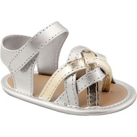 Wee Kids Strappy T-Strap Sandals - Baby Girl