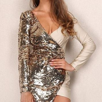Laurie Sequin Dress
