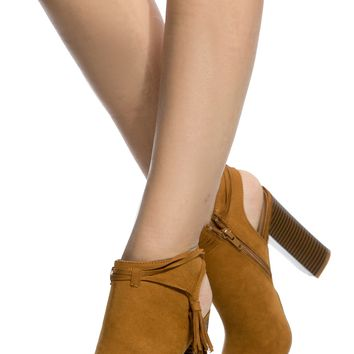 Cognac Faux Suede Cut Out Peep Toe Booties @ Cicihot. Booties spell style, so if you want to show what you're made of, pick up a pair. Have fun experimenting with all we have to offer!