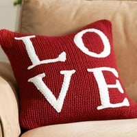 Love Sweater Pillow Cover