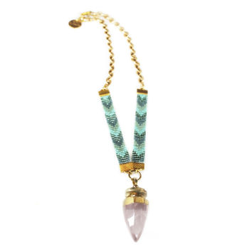 St Tropez Necklace (blue)