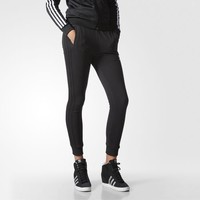 adidas Slim Cuffed Track Pants - Black | adidas US