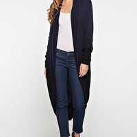 LOVESTITCH-Ombre Cocoon Cardigan (Navy)