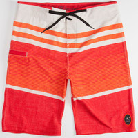 O'neill Hyperfreak Heist Mens Boardshorts Red  In Sizes