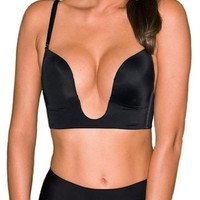 Sexy V Shape Push Up Deep Plunge Convertible V BRA Max Cleavage Booster Shaper