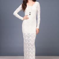 DREAMER LACE MAXI DRESS