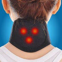 1Pcs Magnetic Therapy Neck Massager Cervical Vertebra Protection Spontaneous Heating Belt Body Massager neck