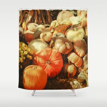 Autumn Collection Shower Curtain by Theresa Campbell D'August Art