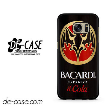 Bacardi Can DEAL-1280 Samsung Phonecase Cover For Samsung Galaxy S7 / S7 Edge
