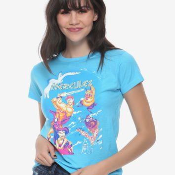 Disney Hercules Movie Poster Girls T-Shirt
