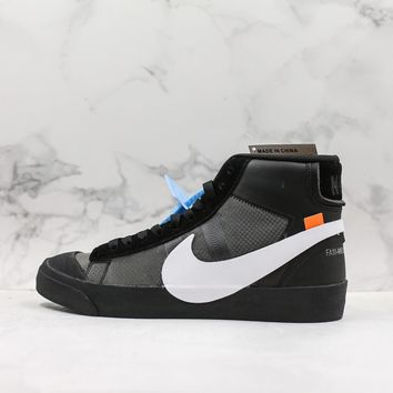 "Off-White x Nike Blazer Mid ""Grim Reepers"" Casual Sneaker - Best Deal Online"