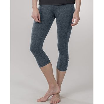 Womens Killer Caboose Charcoal Compression Capris