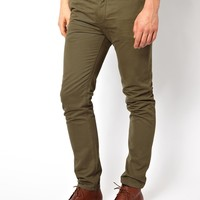 ASOS Slim Chinos - Green