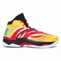 New Men's Under Armour Curry 2.5 Basketball Shoe - Monkey King 1288403-750