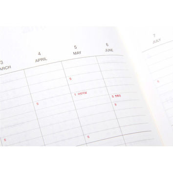 2015 Dash and Dot Grand monthly dated planner scheduler