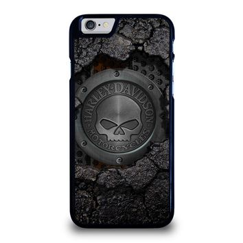 HARLEY DAVIDSON SKULL LOGO iPhone 6 / 6S Case Cover