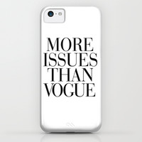 More Issues than Vogue iPhone & iPod Case by RexLambo