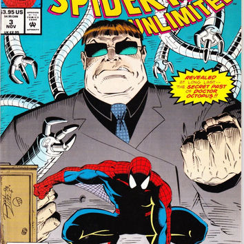 Vintage Spider-Man Unlimited Comic Book First Series #3 1993 Marvel Comics