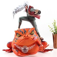 Naruto Sasauke ninja Figurine  Shippuden Gama Sennin Jiraiya Action Figure PVC  Statues Collection Model Toys AT_81_8