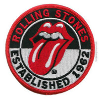 Rolling Stones - Established 1962 Patch on Sale for $4.99 at The Hippie Shop