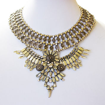 Orion Chunky Metal Necklace