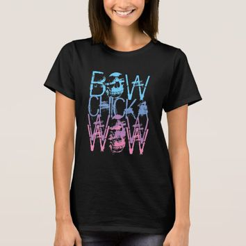 Bow Chicka Wow Wow Metal T-Shirt