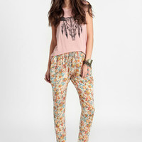 First Sign of Morning Paisley Print Pants - $34.00 : ThreadSence, Women's Indie & Bohemian Clothing, Dresses, & Accessories
