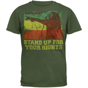 Bob Marley - Rights Soft T-Shirt