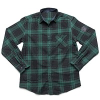 Merit Flannel - Green/Blue
